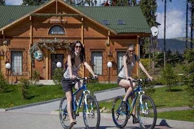 Велосипеды в Карпатах