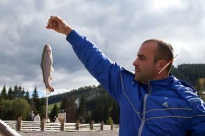 Рыбалка на Буковеле