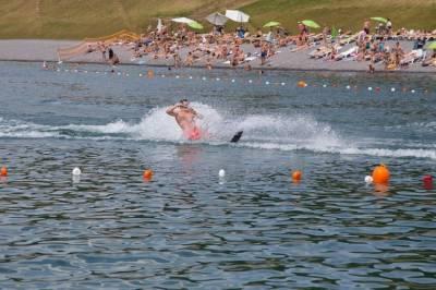Катание на водных лыжах в Буковеле